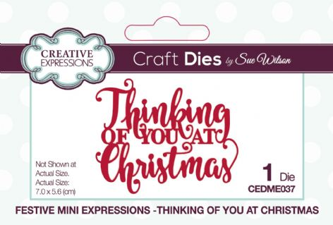 Festive Mini Expressions - Thinking of You at Christmas